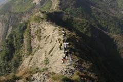 三江观景台-乌山尖山脊-雷山道院-妙有寺-梅园穿越