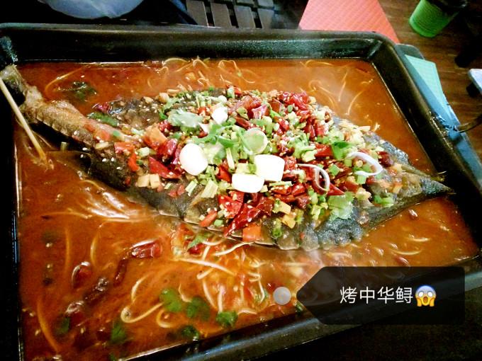 北海老街的著名小吃,李姨虾饼店!