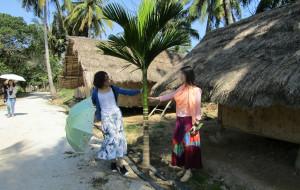 【东方市图片】海南环岛自驾游第八站:海南最后一个黎族原始古村落:白查村。