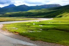 信天游—青海湖和茶卡/卓尔山和张掖/山丹军马场和门源