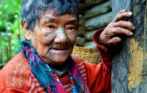 【澜沧江图片】穿越四江并流记之:寻访独龙江峡谷最后的文面女