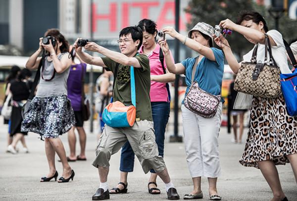 团队打卡游减少后,中国客变得安静而文明