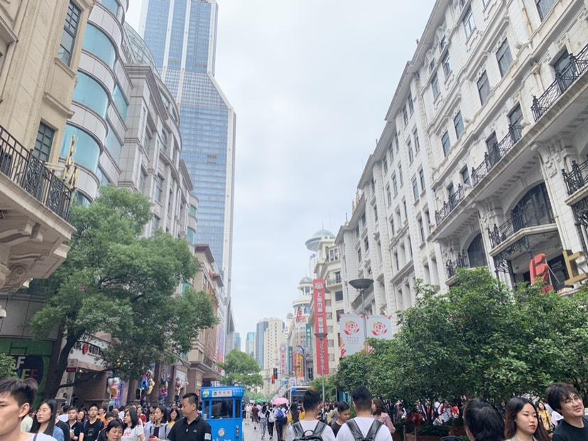 Shanghai Nanjing Road Pedestrian Street