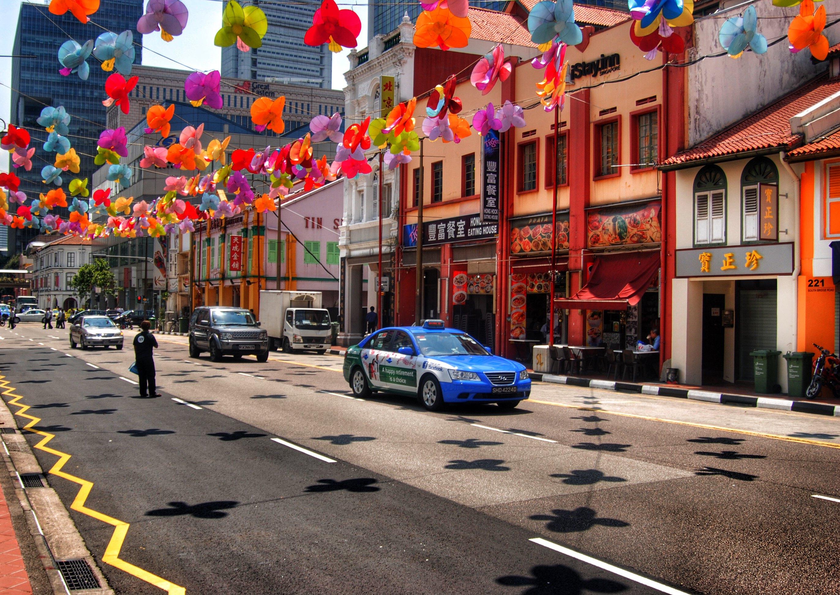 新加坡唐人街工作 新加坡唐人街地图